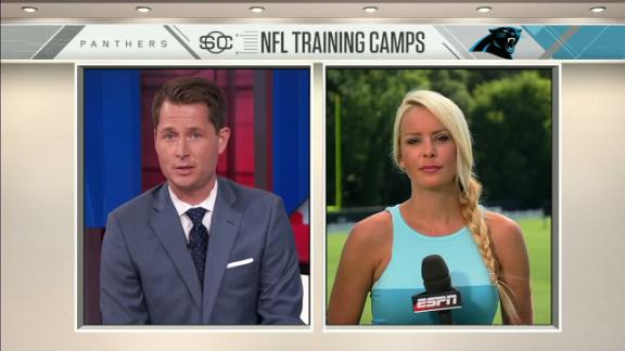 Video - Newton controlling image at training camp