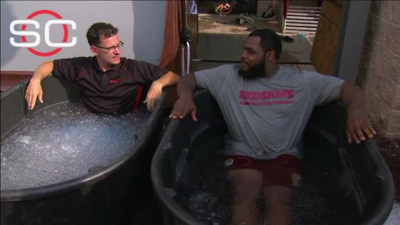 Video - Keim interviews Chris Baker in an ice bath