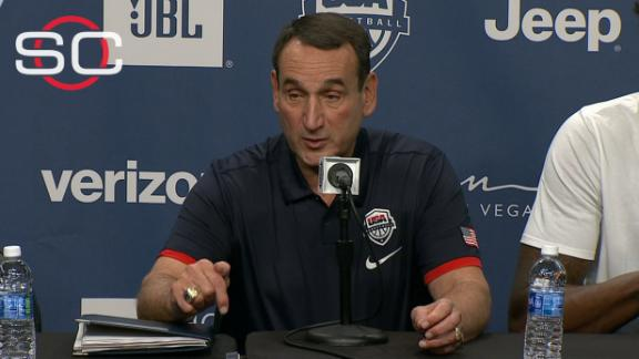 Coach K: Melo's experience helping develop Team USA