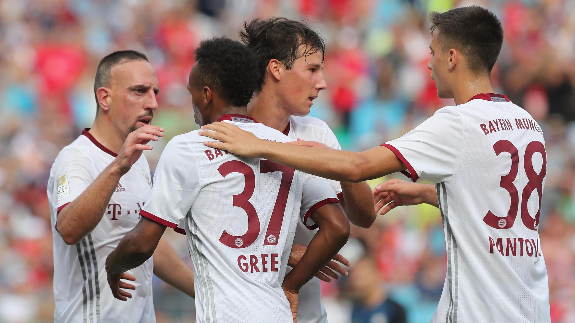 Bayern cruises past Inter behind Julian Green hat trick