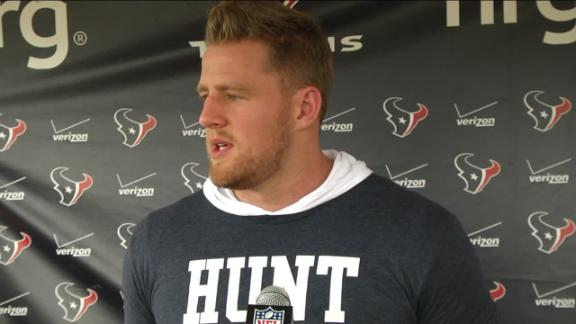 Video - Watt has sights set on Week 1