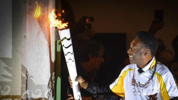 Will Pele light the Olympic torch?