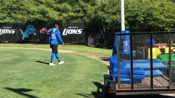Lions Decline To Provide Update On TE Eric Ebron's Injury