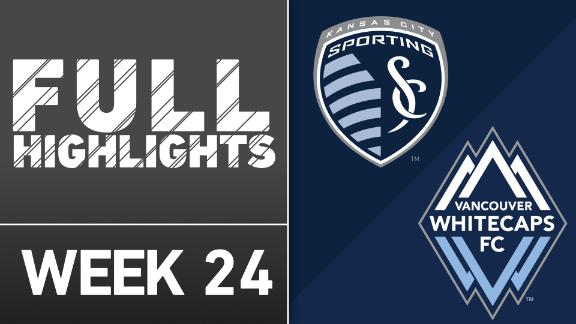 Video via MLS: Sporting KC 2-0 Vancouver