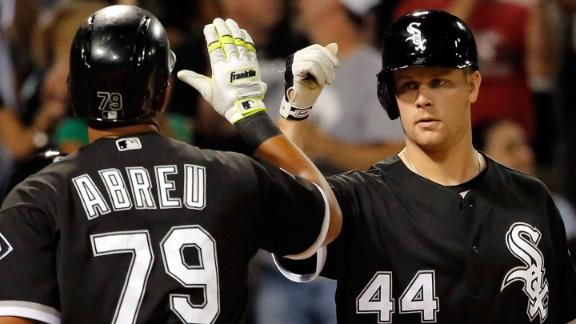 Abreu, Morneau go back-to-back for White Sox