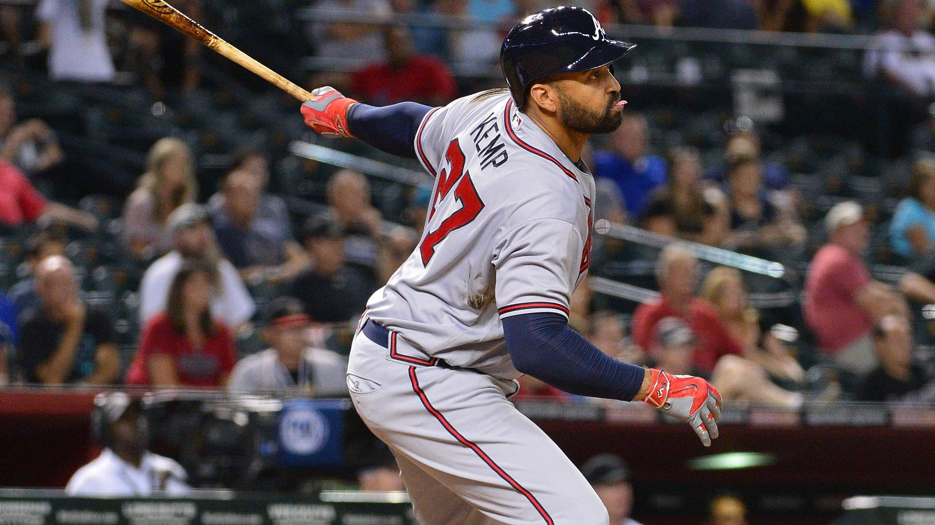 Kemp puts Braves ahead with bases-clearing double