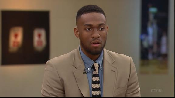 Jabari Parker Comfortable speaking out