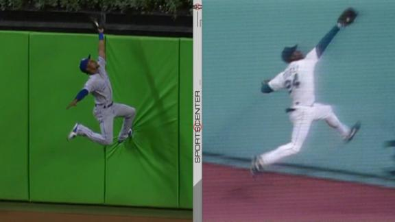 Dyson channels his inner Griffey