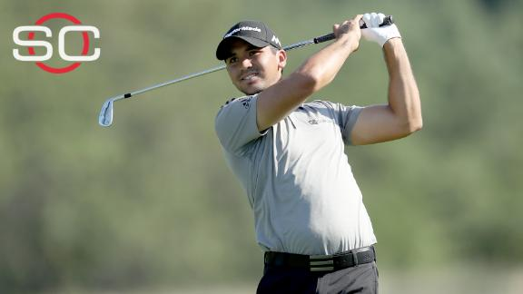 Day tied for 7th place after first round of Barclays