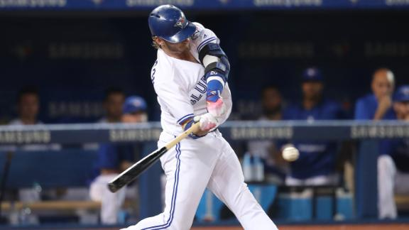 Donaldson obliterates baseball in massive home run