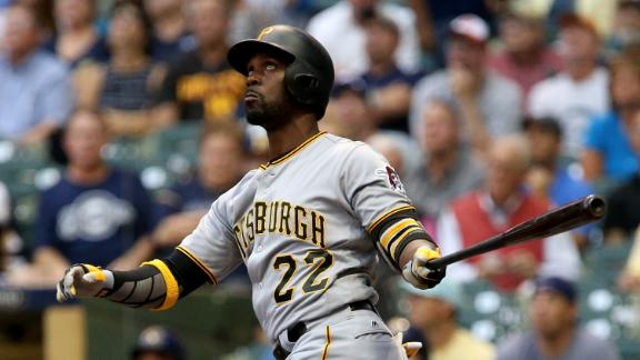 McCutchen's RBI single gives Pirates a win in 10 innings