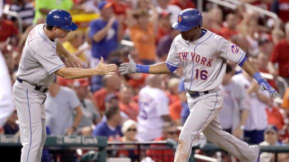 De Aza shines in Mets' victory over Cardinals