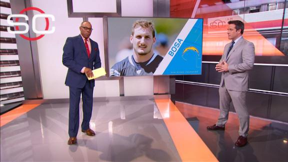 Chargers trying to turn fanbase against Bosa