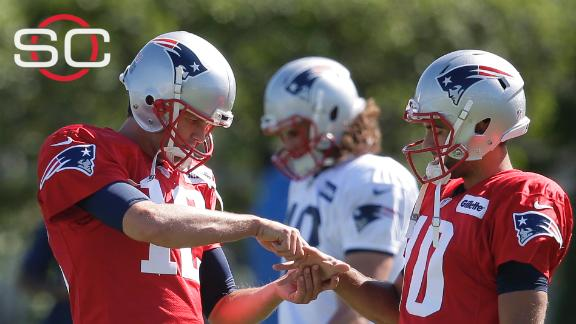 Will Brady's playing time hurt Garoppolo's progression?