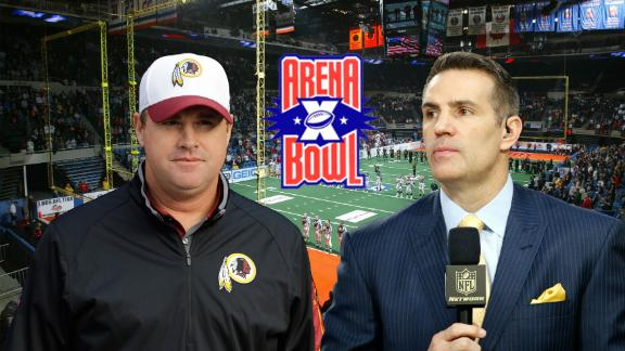 Gruden vs. Warner: Remembering an Arena Bowl classic