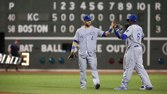 Royals pounce early to beat Red Sox