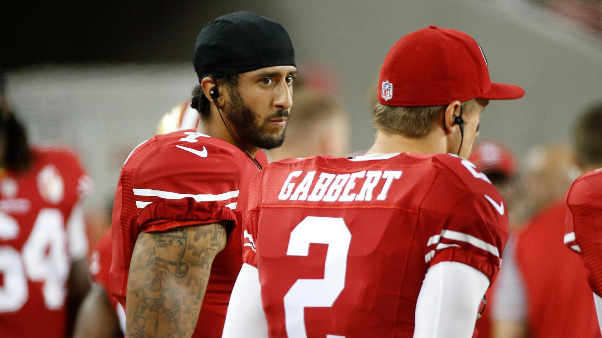 Graziano: Kaepernick sitting out national anthem is nothing new