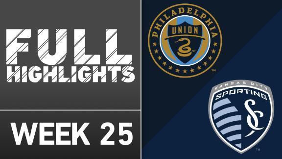 Video via MLS: Union 2-0 Sporting KC