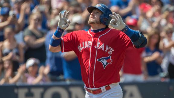 Donaldson has first three-homer game of career