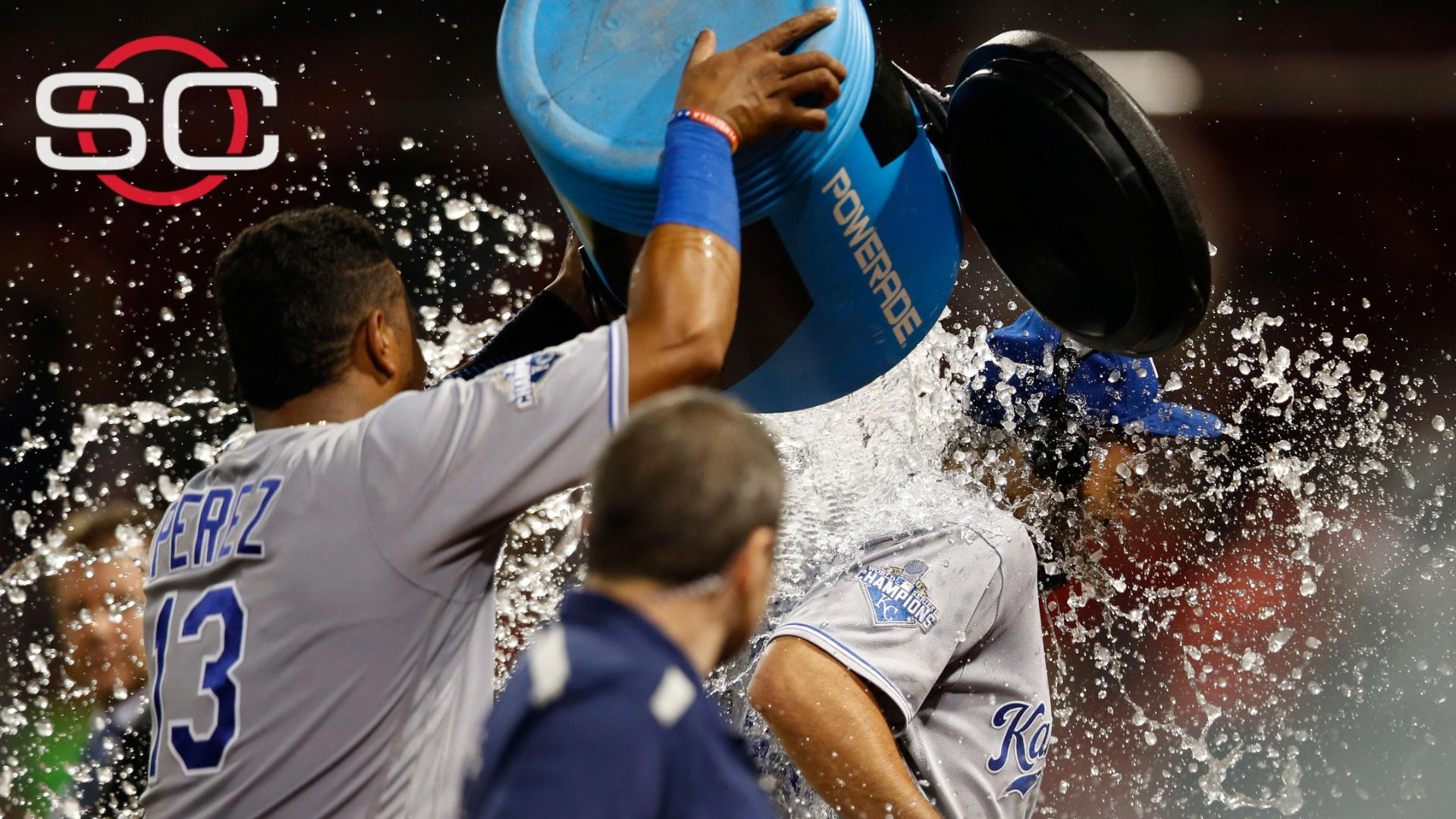 Hosmer gets splashed on SportsCenter