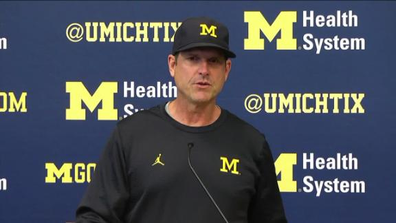 Jim Harbaugh: 'Don't respect' action of Colin Kaepernick's protest