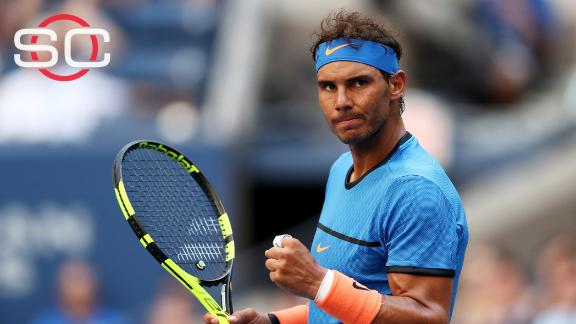 Nadal takes down Istomin to advance at US Open