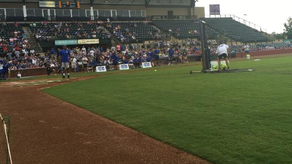 Karl-Anthony Towns wins Coach Cal Celebrity Softball Classic's home run derby