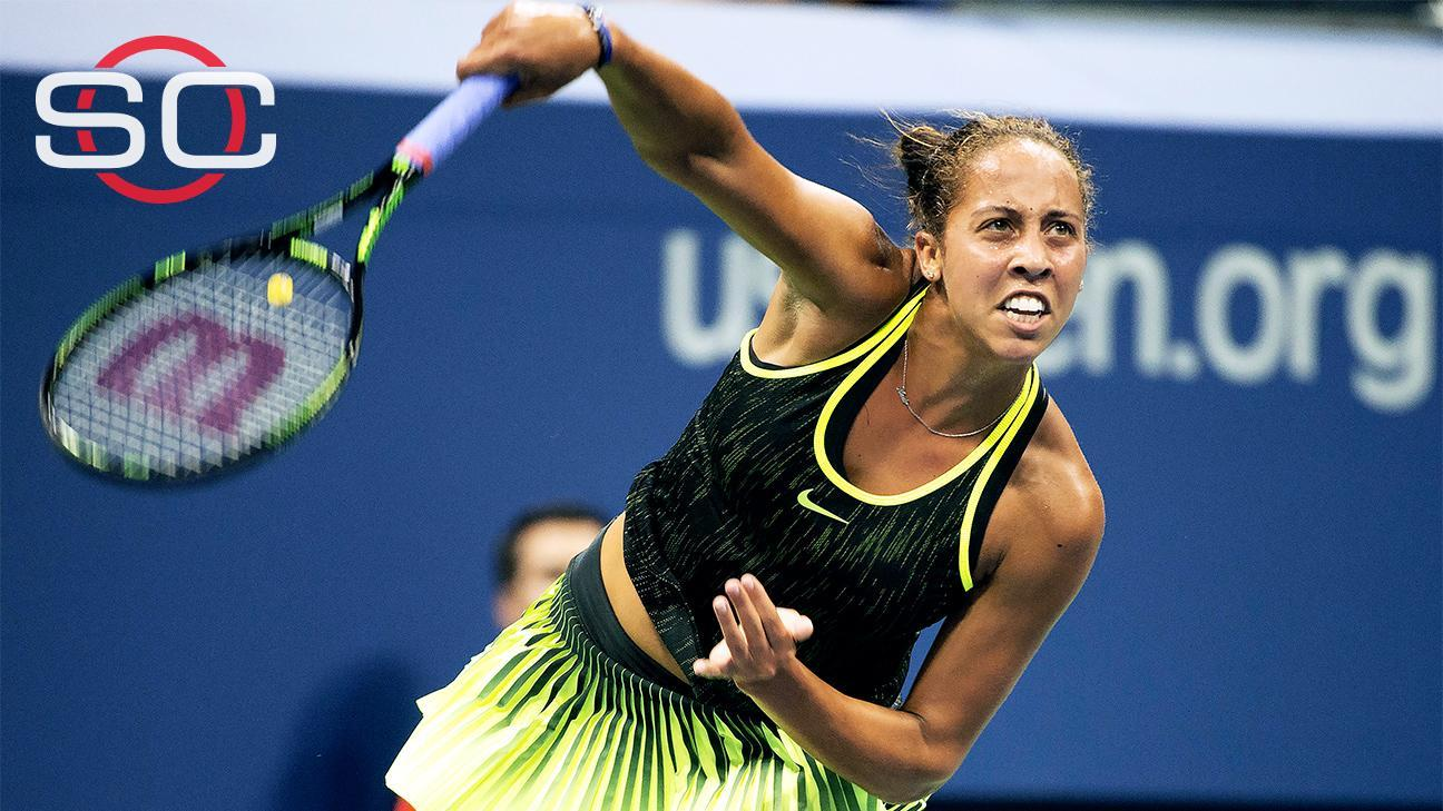Keys prevails for first-round victory at US Open