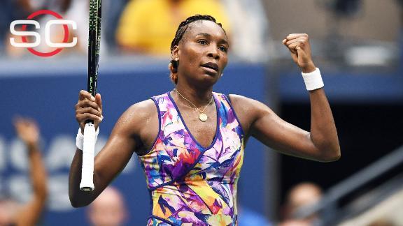 Venus Williams shows stamina in marathon US Open win