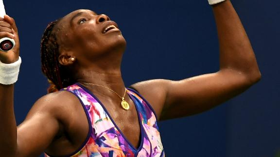 Venus Williams shows stamina in marathon US Open win