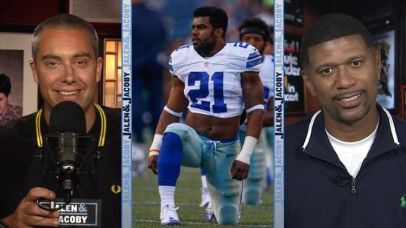 Jalen and Jacoby: Ezekiel Elliott didn't buy any weed... that we know of