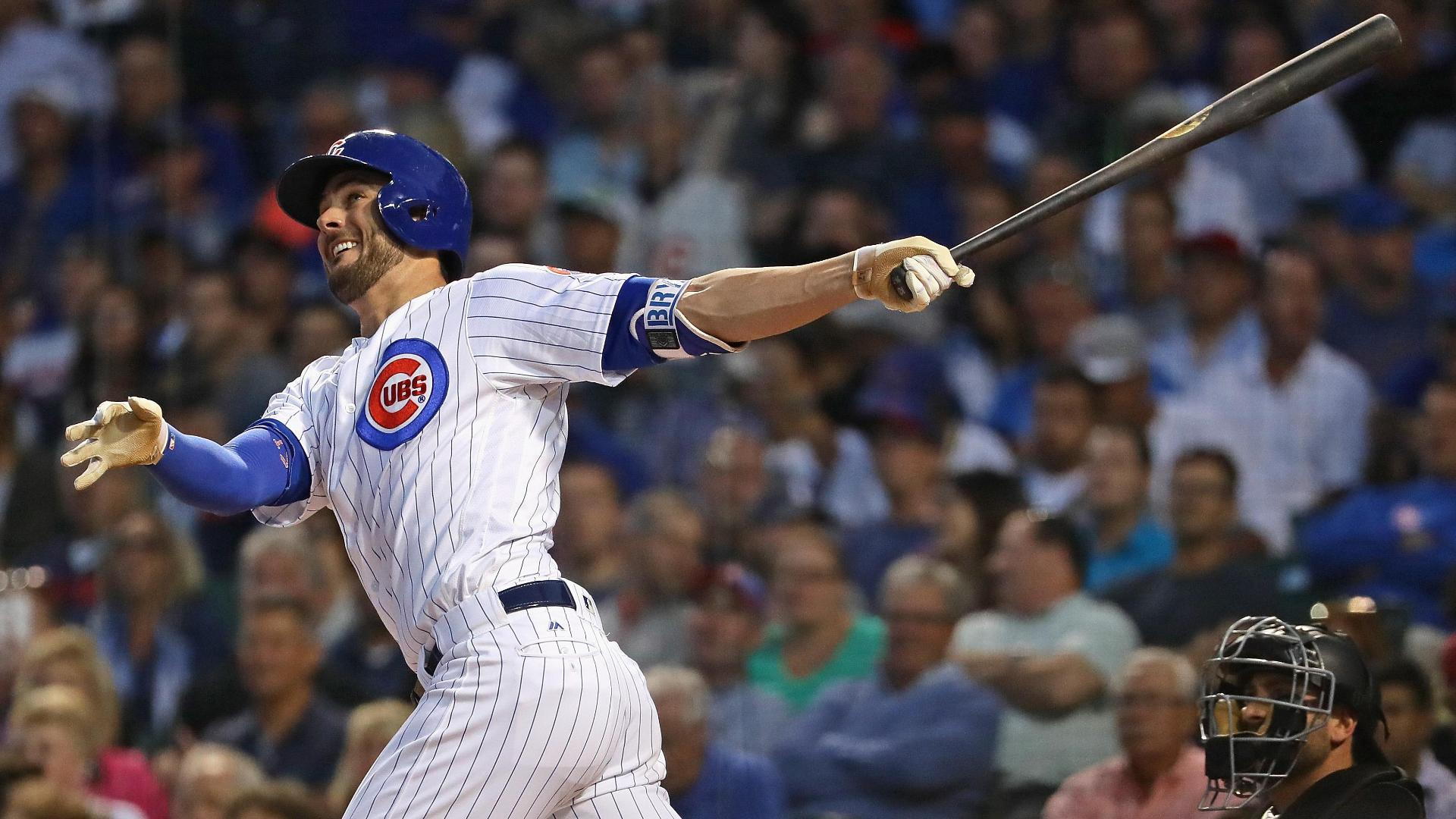 Bryant's 36th HR of season gives Cubs early lead