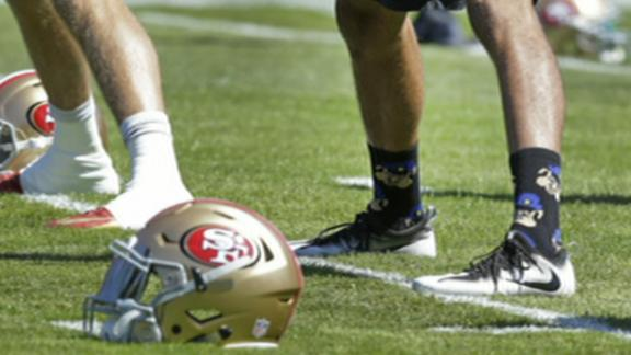 Kaepernick's pig socks will be 'difficult to justify'