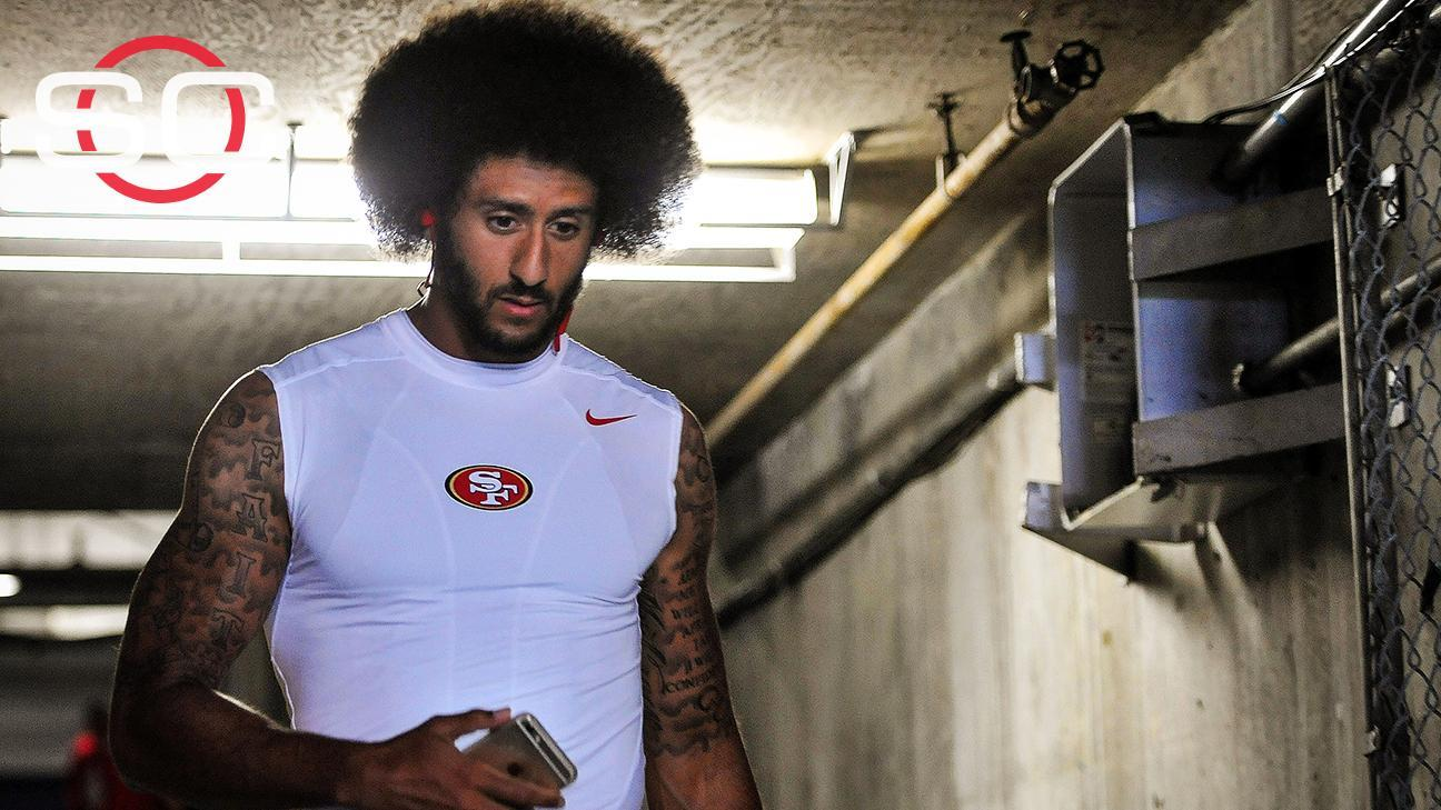 Kaepernick met with boos and applause in San Diego