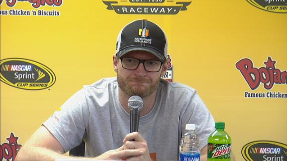 Earnhardt Jr: 'I definitely don't belong in a race car today'