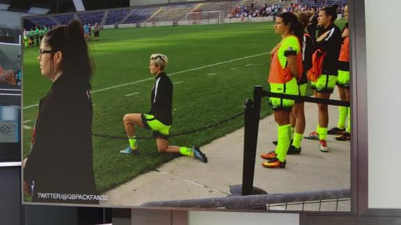 Markgraf not surprised by Rapinoe kneeling during anthem