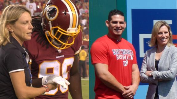 be3bec31 As head doctor for the Redskins and Nationals, Dr. Robin West could ...