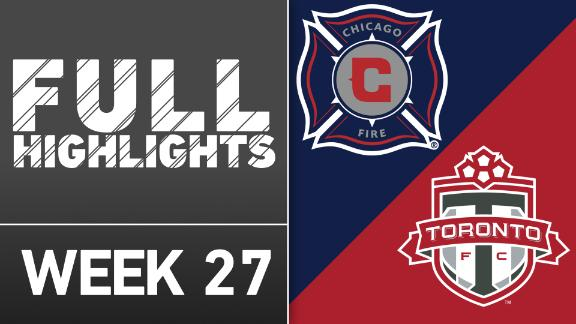 Video via MLS: Chicago Fire 1-2 TFC