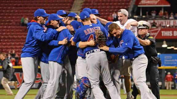 The iconic moments from the Cubs' season