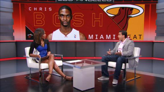 Bosh working towards NBA comeback