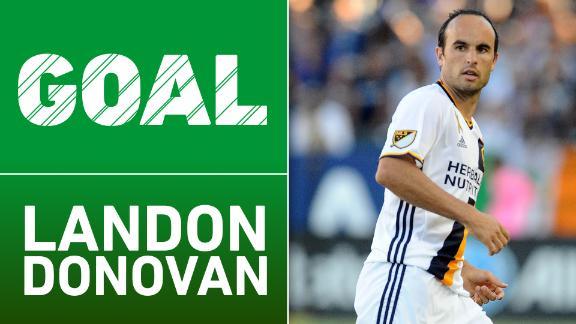 Video via MLS: Donovan scores in MLS return