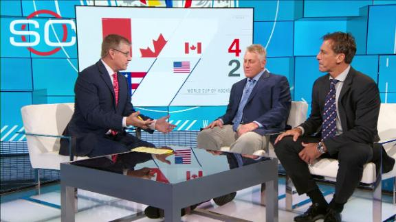 Hull says USA was playing checkers, Canada was playing chess