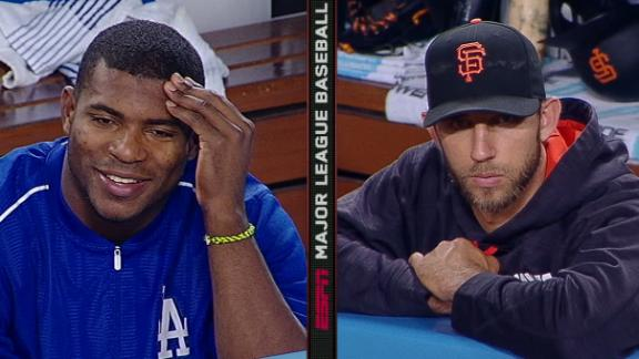Puig puts cherry on top of scuffle with Bumgarner