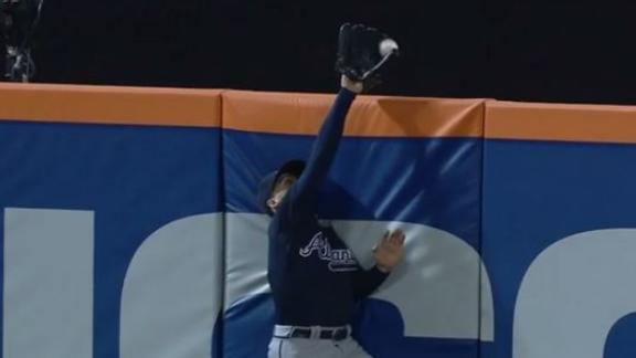 Inciarte robs Cespedes of potential game-winning HR