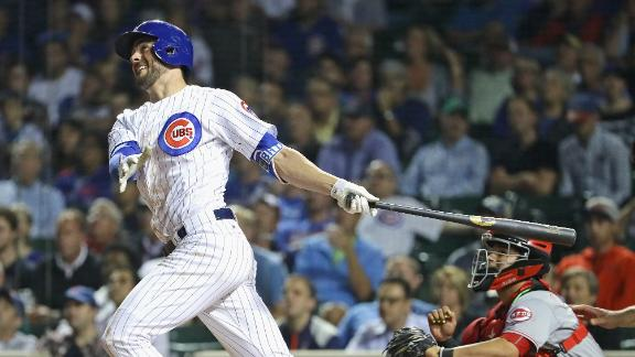Cubs cruise to sweep Reds
