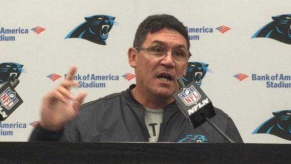 Ron Rivera says all things are a go for Sunday's game
