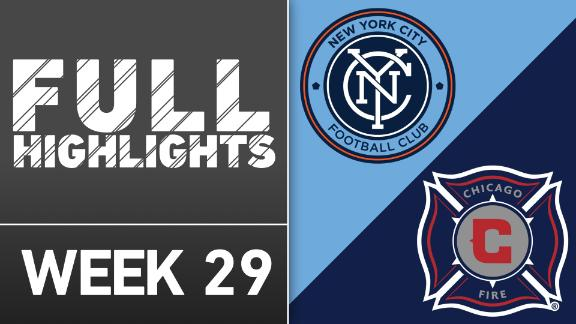 Video via MLS: NYCFC 4-1 Chicago Fire