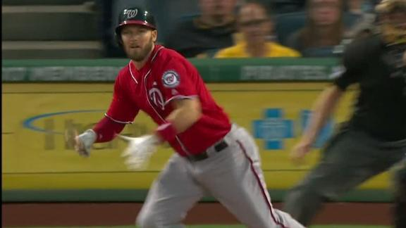 Drew's two-run single in first adding to Nats' lead