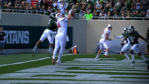 Badgers knock off Spartans in East Lansing