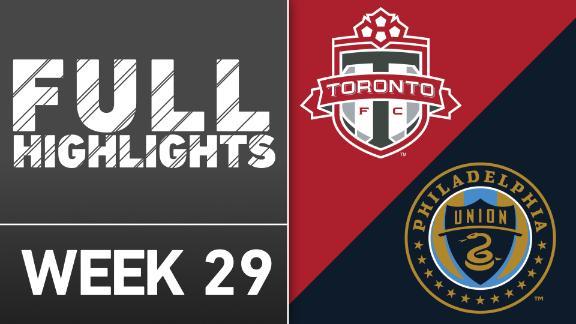 Video via MLS: TFC 1-1 Philadelphia Union